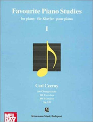 9789638303783: 1: Cherny, Favourite Piano (Music Scores)
