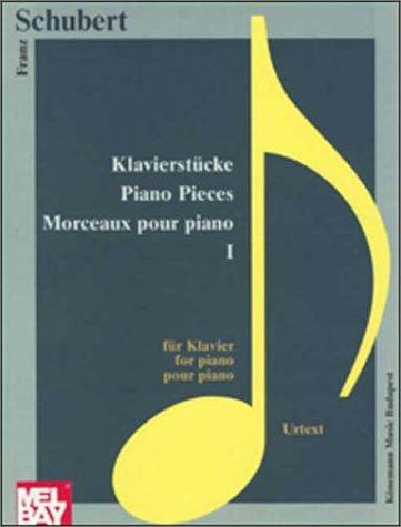 9789638303851: Schubert: Selected Piano Pieces I (Music Scores)