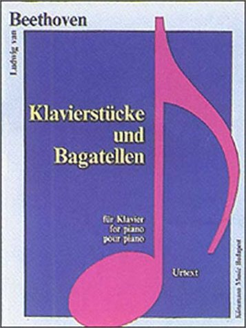 9789638303950: Piano Pieces and Bagatelles (Music Scores)