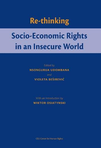 9789638656988: Re-Thinking Socio-Economic Rights in an Insecure World