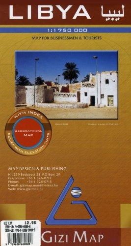 9789638680808: Libya Map (English, Spanish, French, Italian and German Edition) (English and French Edition)