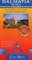 9789638680853: Dalmatia/Istria Road Map 1:250 000 Gizi (English, French and German Edition)