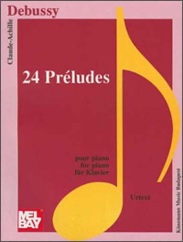 9789639059580: Debussy: Preludes