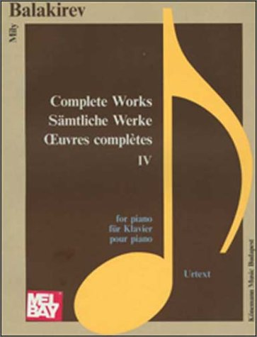 9789639059627: Piano Complete Works IV (Music Scores)