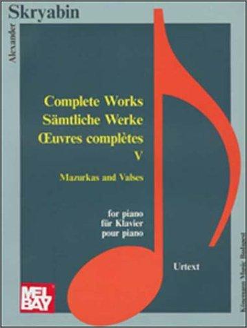 9789639059719: Mazurcas & valses (Music Scores)