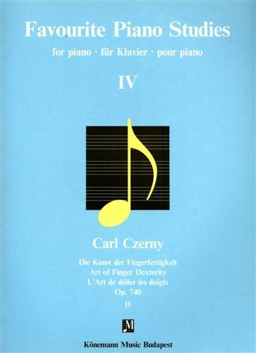 9789639059948: Favorite Piano Studies 4 (Music Scores)
