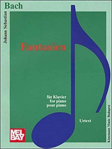 9789639155015: Phantasien (Music Scores)