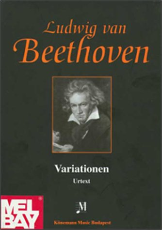 Beethoven, Variations: Music Scores (Partitions Cps): Beethoven, Ludwig Van