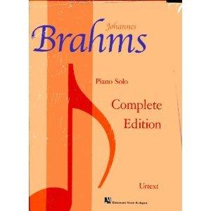 Johannes Brahms: Piano Solo Complete Edition