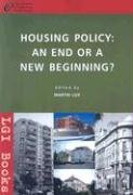 9789639419469: Housing Policy: An End or New Begining?