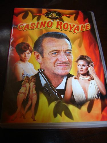 9789639725881: Casino Royale (1967) / Region 2 PAL DVD / European Edition / Audio: English, French, German, Italian, Spanish / Subtitle: English, French, German, Spanish, Italian, Dutch, Swedish, Finish, Danish, Norwegian / Starring: David Niven, Peter Sellers Joanna pettet, Orson Wells, Danliah Lavi / Director: John Huston, Joseph McGrath