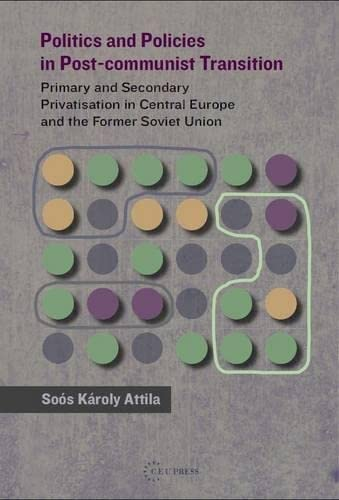 9789639776852: Politics and Policies in Post-Commumist Transition: Primary and Secondary Privatization in Central Europe and the Former Soviet Union: Primary and ... in Central Europe and the Former Soviet Union