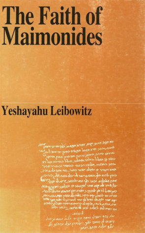 9789650504656: The Faith of the Maimonides (Jewish Thought)