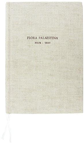 9789652080042: Flora Palaestina, Part Four: Alismataceae to Orchidaceae