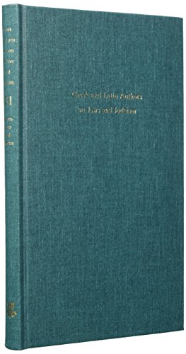9789652080639: 3: Greek and Latin Authors on Jews and Judaism, Volume Three: Appendixes and Indexes (Fontes Ad Res Judaicas Spectantes) (English, Ancient Greek and Latin Edition)