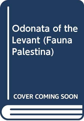 Insecta V - Odonata of the Levant: Dumont, H