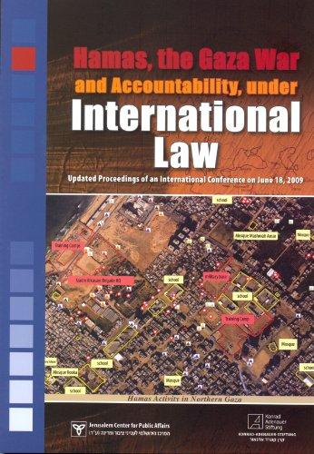 9789652180902: Hamas, the Gaza War and Accountability, under International Law