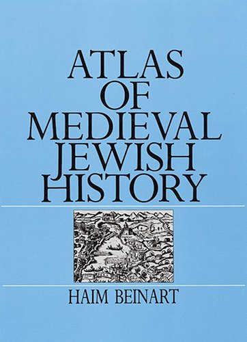 9789652201881: Atlas of Medieval Jewish History,