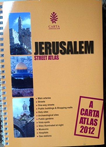 9789652208385: Carta's Jerusalem Street Atlas