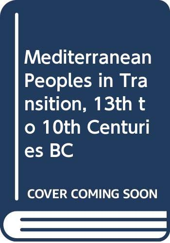 9789652210364: Mediterranean Peoples in Transition, 13th to 10th Centuries BC