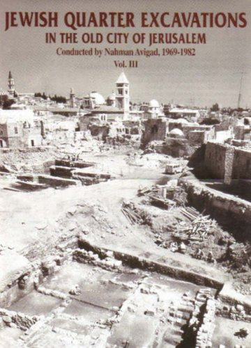 Jewish Quarter Excavations in the Old City of Jerusalem: 1969-1982: Volume 2: The Finds from areas ...