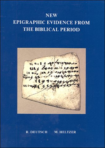 9789652226129: New Epigraphic Evidence from the Biblical Period (Tel Aviv Archaeological)