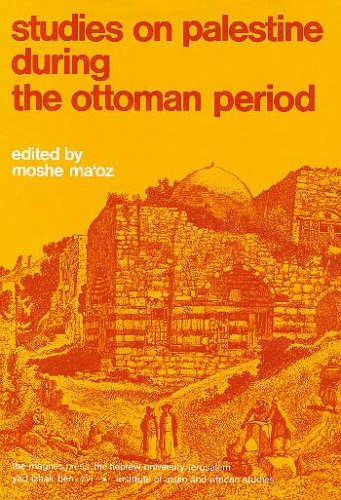 9789652235893: Studies on Palestine during the Ottoman Period