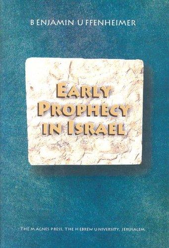 9789652239778: Ancient Prophecy in Israel (Sidrat Sefarim Le-Heker Ha-Mikra Mi-Yesodo Shel S. Sh. Peri.)