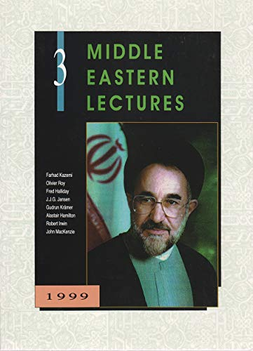 9789652240361: 3: Middle Eastern Lectures 1999