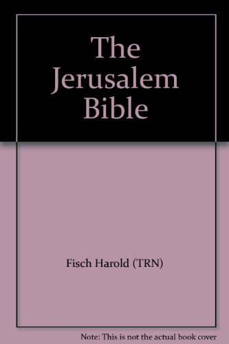 9789653011335: The Jerusalem Bible