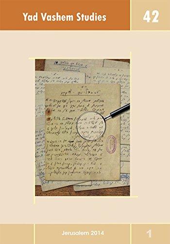 Yad Vashem Studies Volume 42 (1): David Silberklang