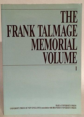 The Frank Talmage memorial volume
