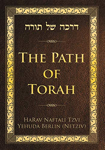9789655240306: The Path of Torah
