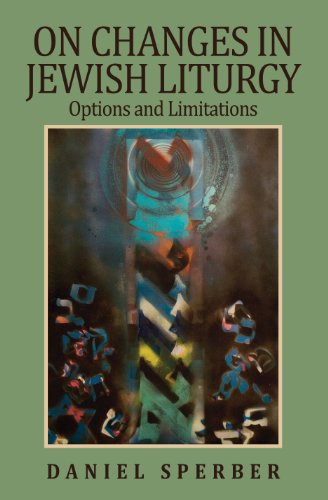 9789655240405: On Changes in Jewish Liturgy: Options and Limitations