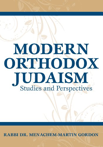 9789655240597: Modern Orthodox Judaism: Studies and Perspectives