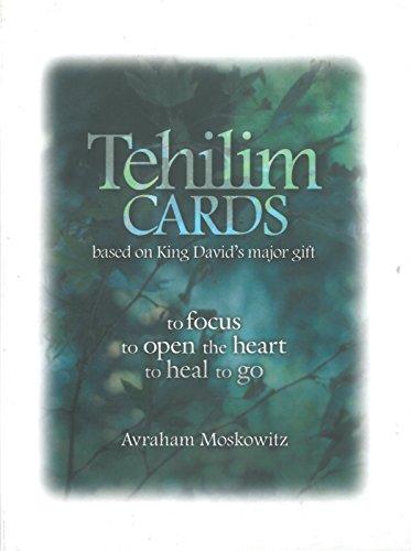9789655551747: Tehilim Cards (Based on King David's Major Gift)
