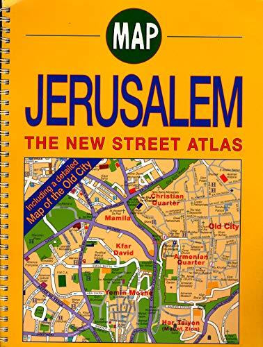Map Jerusalem The New Street Atlas: Melzer, Mulli [Editor-in-Chief]