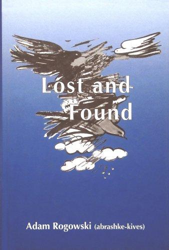 Lost and Found: Adam Ben-Akiva; Adam