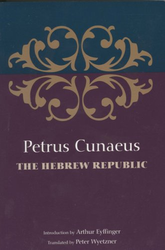 9789657052372: The Hebrew Republic