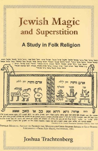 9789657287040: Jewish Magic and Superstition: A Study in Folk Religion