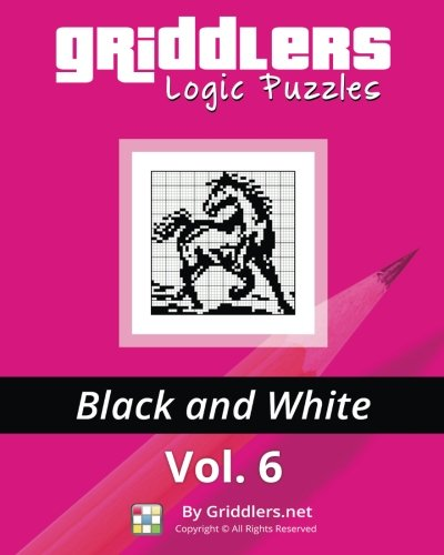 9789657679050: Griddlers Logic Puzzles: Black and White (Volume 6)