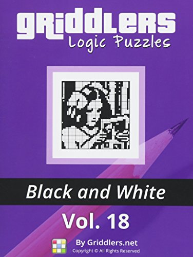 9789657679173: Griddlers Logic Puzzles: Black and White (Volume 18)