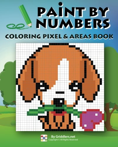 9789657679265: Paint by Numbers: Coloring Pixel & Areas Book (Volume 1)