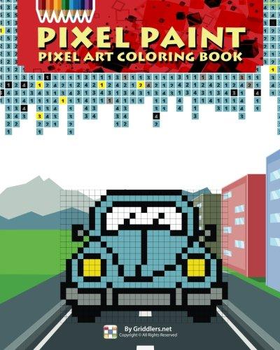 9789657679272: Pixel Paint: Pixel Art Coloring Book