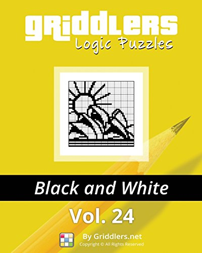 9789657679517: Griddlers Logic Puzzles: Black and White (Volume 24)