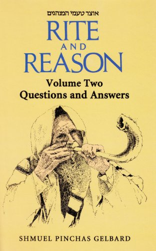 9789659056620: Rite and Reason - Volume Two; Questions and Answers