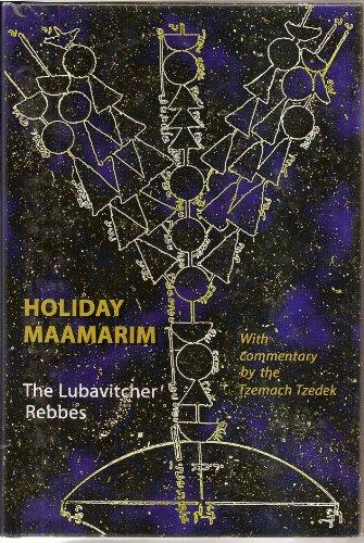 Holiday Maamarim: Schneerson, Menachem M.