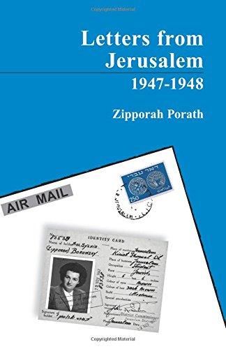 9789659198726: Letters From Jerusalem 1947-1948