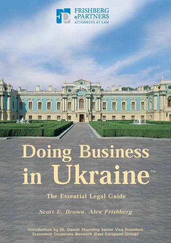 9789665819363: Doing Business in Ukraine: The Essential Legal Guide
