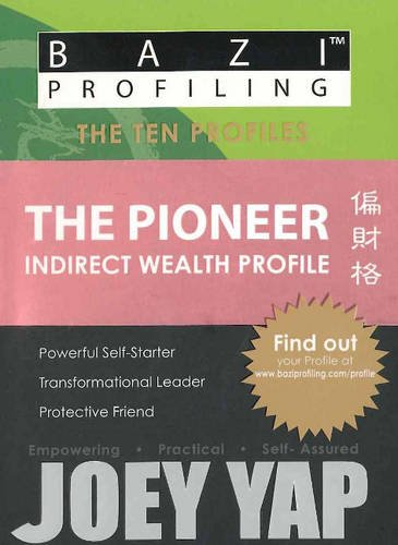 BaZi Profiling Series - The Pioneer (Indirect Wealth Profile): Joey Yap